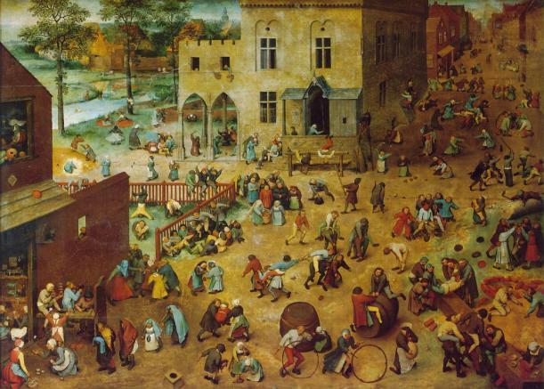 Jocs de nens, de Peter Bruegel el Vell