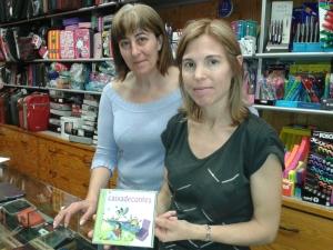 Llibreria Atenea Terrassa Joana i Magda 09juliol2014