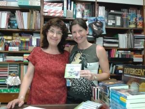 Llibreria Eivissa BCN Maria 22juliol2014